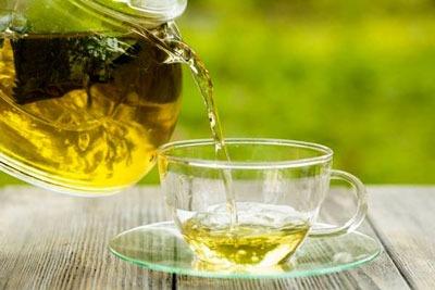 عکس چای سبز برای درمان خانگی آرتروز زانو